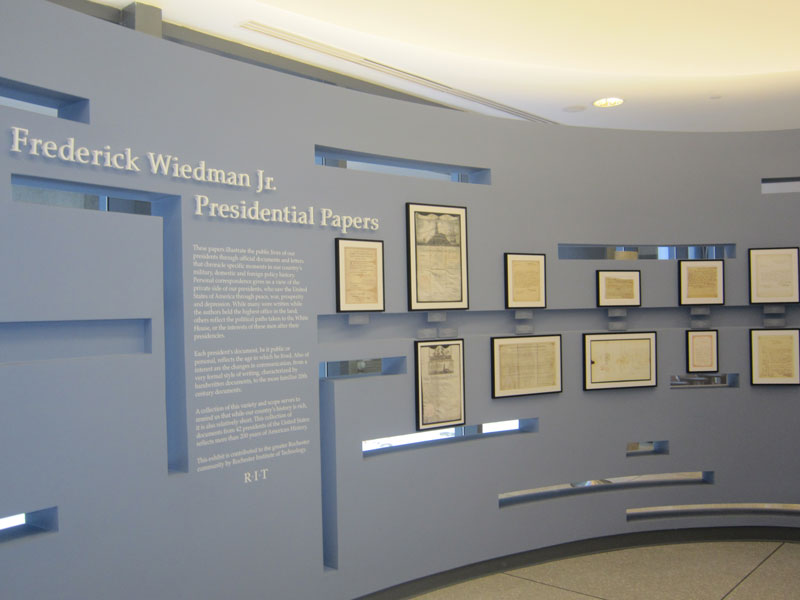 Image of Presidential Papers Exhibit